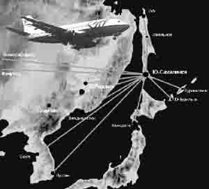 карта авиаперелетов