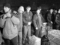 Нелегальные мигранты из Таджикистана