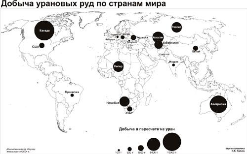 добыча и обогащение урановой руды удачно